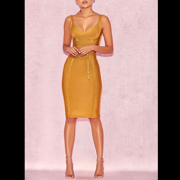 House of CB Dresses & Skirts - House of CB Belice Dress in Ginger